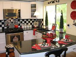 Kitchen Accessories In Red - awesome 70 kitchen ideas in red decorating inspiration of 15