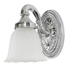 chrome nautical bath sconce bellacor