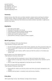 sle resume templates accountants nearby grocery grocery store clerk resume http jobresumesle com 1514 grocery