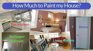 how much does it cost to paint kitchen cabinets professionally cost of painting a house interior a comprehensive guide
