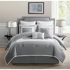 Light Gray Comforter by Lola Brianna 7 Piece Print Comforter Set By Madison Park Hayneedle