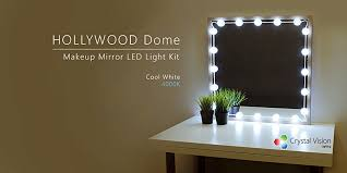 makeup mirror with led lights amazon com crystal vision make up mirror led light kit provided by