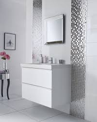 grey and white bathroom tile ideas https i pinimg com 736x 66 57 4c 66574c84d77b271