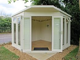 How To Build A Shed Summer House by Contemporary Corner Shed Pent Roof Google Search Storage Sheds