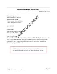 demand for payment of nsf check canada legal templates
