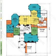 ashwood manor 9254 french country home plan at design basics