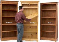 built in cubby bookshelf made with blind dadoes woodworking