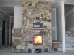 garden masonry heater fireplace for rustic home interior design masonry heater fireplace for rustic home interior design ideas
