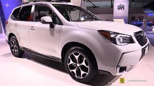 2016 subaru forester interior 2016 subaru forester xt exterior and interior walkaround 2016