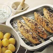 cuisiner le maquereau au four maquereaux grillés à l aneth recettes allrecipes québec