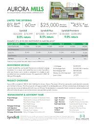 Estate Deal Sheet Template Mills Term Sheet Revised Vf