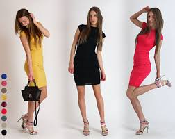 new spring 2017 tight elegant dress casual dresses