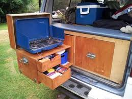 Camp Kitchen Chuck Box Plans by 132 Best Travel Camping Images On Pinterest Teardrop Campers