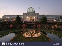 richmond virginia lewis ginter botanical garden christmas lights