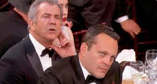 M El Mel Gibson Vince Vaughn Did Not Look Impressed By Meryl Streep U0027s