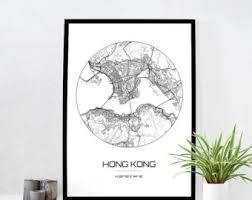 printable maps hong kong hong kong map print city map poster