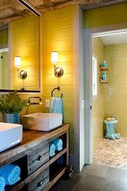 photos hgtv guest bathroom with reclaimed wood vanity idolza