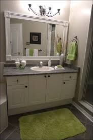 custom bathroom mirrors bahtroom plain wall paint for amusing bathroom with green carpet on