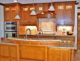 Cooktop Cabinet Craftsman Style Kitchen Cabinets Kitchen Traditional With Cooktop