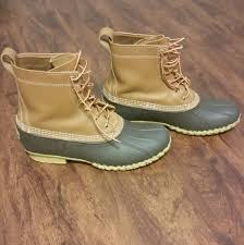 ll bean duck boots womens size 9 60 ll bean shoes ll bean boots size 9 mens size 11