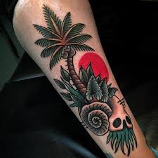 10 funky palm tree tattoos tattoodo