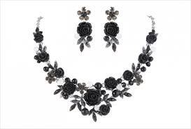 black rose necklace images 21 rose necklace designs ideas design trends premium psd jpg
