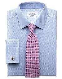 slim fit non iron imperial weave sky blue shirt charles tyrwhitt