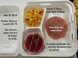 School Lunch Meme - real school lunch