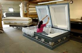 casket companies this is for me i like to stretch out seriously not sure she s