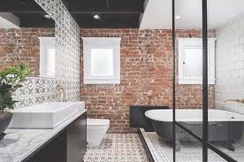 masculine bathroom ideas bathroom bathroom design with exposed brick walls 19 masculine