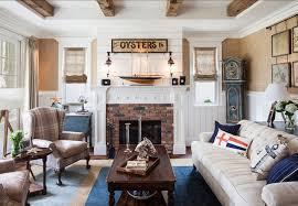 Unique Cape Cod Interior Design Ideas With Coastal Liviving Room