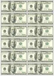 edible money 12 x 100 dollar bills money casino mens edible icing birthday