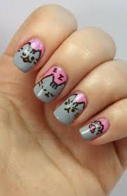 534 best animal cat nails images on pinterest cat nail art