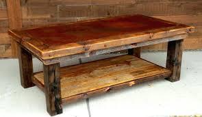 slate wood coffee table rustic coffee table xpoffice info