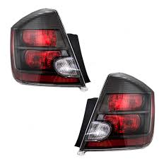 nissan sentra tail light cover autoandart com 07 09 nissan sentra new pair set taillight