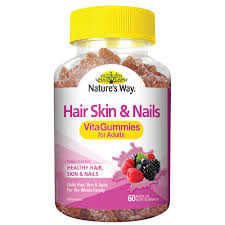 buy hair skin u0026 nails vitagummies for adults 60 gummies by