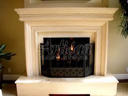 interesting modern fireplace mantels design ideas with cream wall
