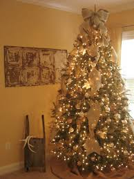 burlap christmas tree awesome ways to burlap tree christmas decoration happy