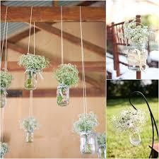 wedding flowers jam jars gypsophila aka baby s breath is back in fashion especially for