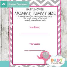 pink elephant baby shower games bundle d103 baby printables