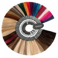 Hair Color Wheel Chart Colors Textures Lengths Hairdreams
