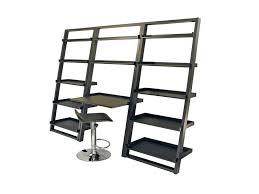 Ladder Shelf Bookcase Ikea Bookcase Metal Leaning Ladder Shelf Metal And Wood Leaning