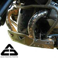 acd racing parts bmw r 1200 gs gsa oilheads aluminum skid plate
