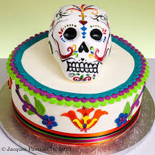 Halloween Decorated Cakes - 52 best skull cakes images on pinterest sugar skull cakes sugar