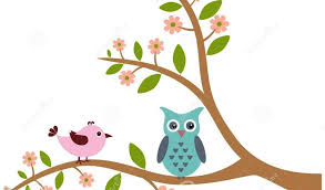 tree clipart owls pencil and in color tree clipart owls