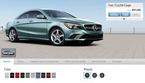 mercedes color options configurator for the 2014 mercedes launched benzinsider