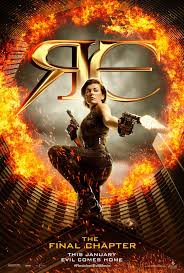 the new resident evil the final chapter poster upcoming 2017