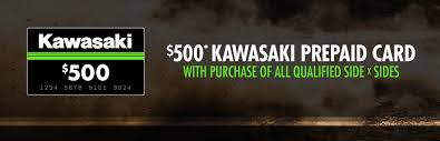 Utah prepaid travel card images Kawasaki 500 kawasaki prepaid card with purchase of sxs jpg