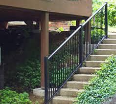 stair railings railing dynamics stair railing aluminum stair