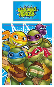 Ninja Turtle Bedding Teenage Mutant Ninja Turtles Half Shell Heroes Junior Toddler Cot